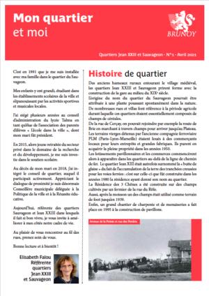 Gazette n°1 - Jean XXIII / Sauvageon