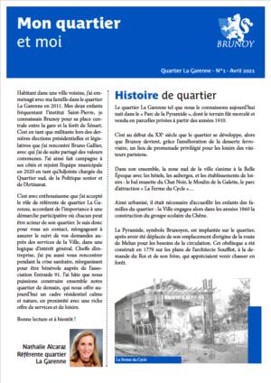 Gazette n°1 - Garenne