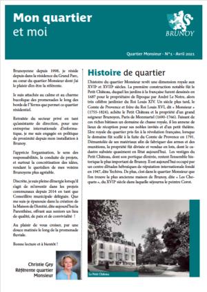 Gazette n°1 - Monsieur