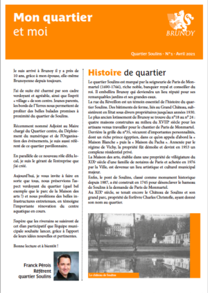 Gazette n°1 - Soulins