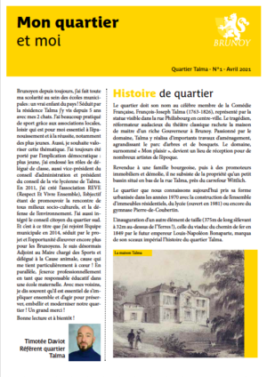 Gazette n°1 - Centre-Ville
