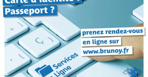 Rendez-vous en ligne à Brunoy